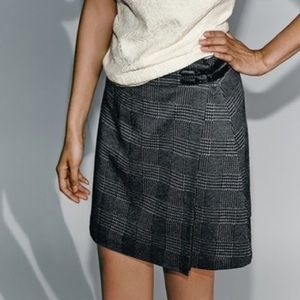 NWOT Vince Camuto Faux Wrap Skirt 🍁